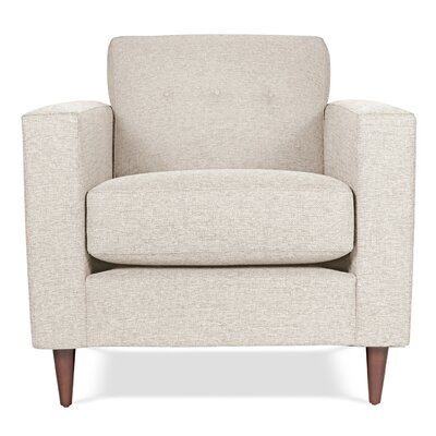 Jackson Armchair Upholstery: Ivory