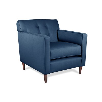Manhattan Arm Chair Upholstery: Navy