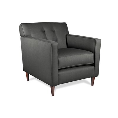 Manhattan Armchair Upholstery: Charcoal