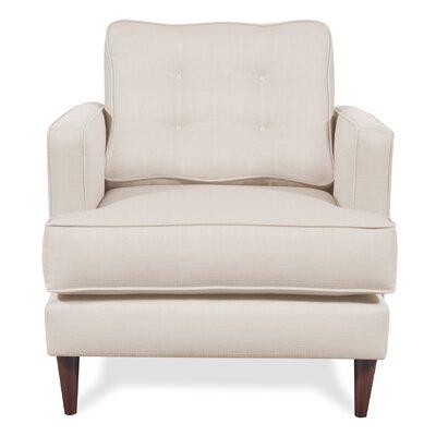 Dana Armchair Upholstery: Ivory