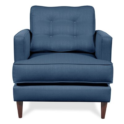 Dana Arm Chair Upholstery: Navy