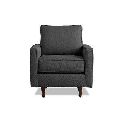 Hope Armchair Upholstery: Charcoal