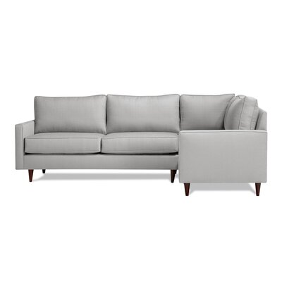 Hope Sectional Upholstery: Dove, Orientation: Right Hand Facing