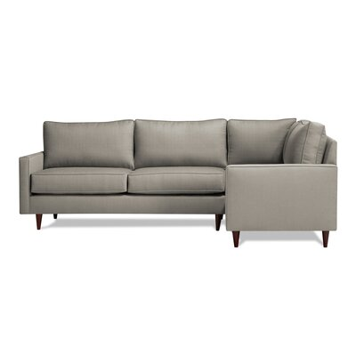 Hope Sectional Upholstery: Dolphin, Orientation: Right Hand Facing