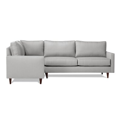 Hope Sectional Upholstery: Dove, Orientation: Left Hand Facing