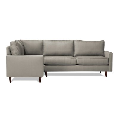 Hope Sectional Upholstery: Dolphin, Orientation: Left Hand Facing