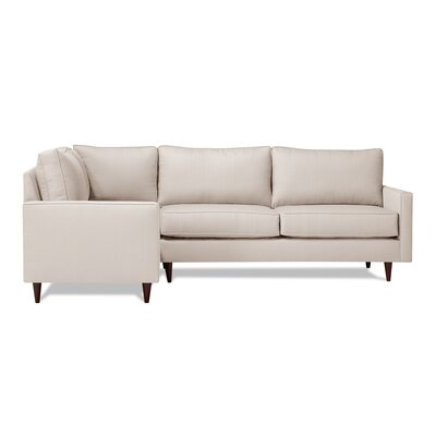 Hope Sectional Upholstery: Ivory, Orientation: Left Hand Facing