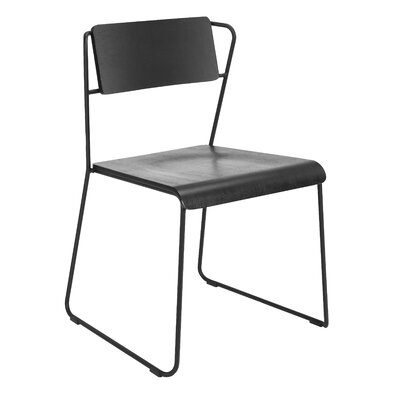 Lockwood Side Chair Finish: Black