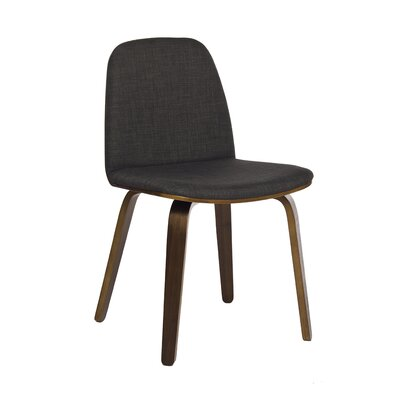 Bloom Side Chair Finish: Walnut Stained