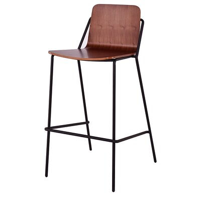 Sling 29 Bar Stool Frame Finish: Black