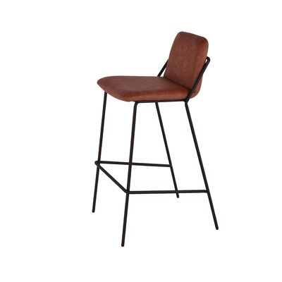 Sling 29 Bar Stool Upholstery: Brown