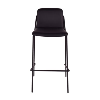 Sling 29 Bar Stool Upholstery: Black