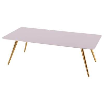 Airfoil Coffee Table Top Color: White