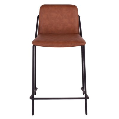 Sling 24 Bar Stool Upholstery: Brown