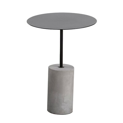 Pier End Table Finish: Black