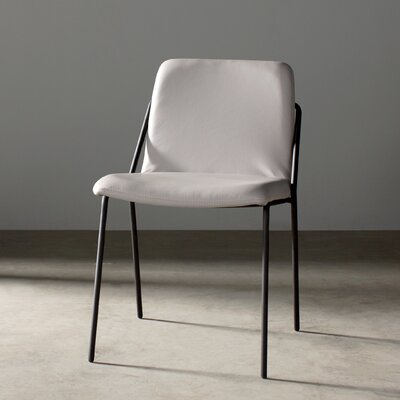 Sling Parsons Chair Frame Finish: Black