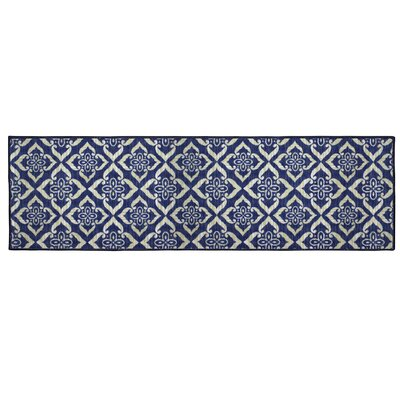 Catarina Blue Area Rug Rug Size: Runner 18 x 5