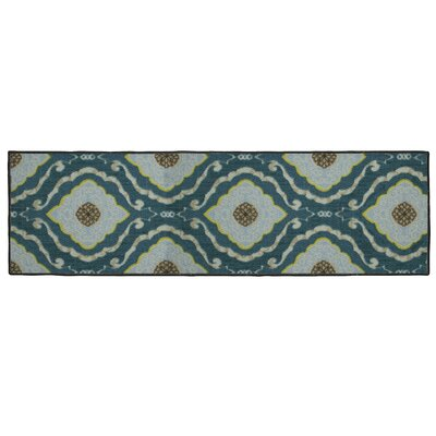 Julianna Blue Area Rug Rug Size: Runner 18 x 5