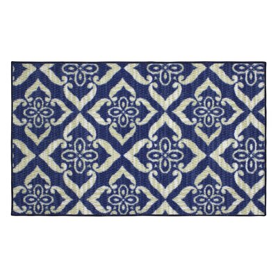 Catarina Blue Area Rug Rug Size: 16 x 26