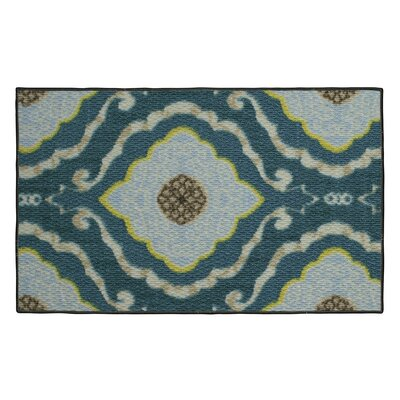 Julianna Blue Area Rug Rug Size: 16 x 26