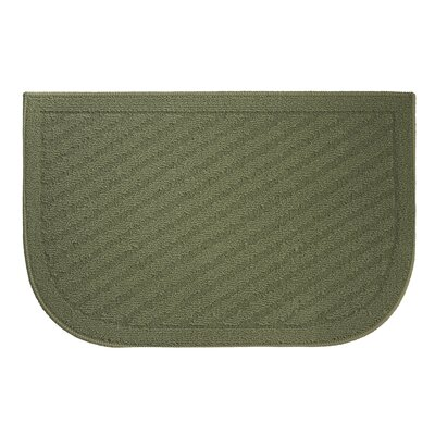Griddle Kitchen Mat Rug Size: Wedge 16 x 24