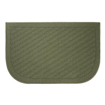 Griddle Kitchen Mat Mat Size: Wedge 16 x 24