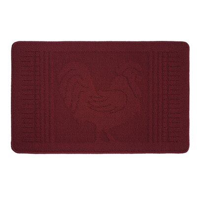 Mr. Rooster Kitchen Mat Rug Size: 16 x 24