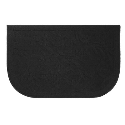 Begonia Kitchen Mat Mat Size: Wedge 16 x 24
