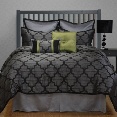 Alhambra 8 Piece Comforter Set Size: California King
