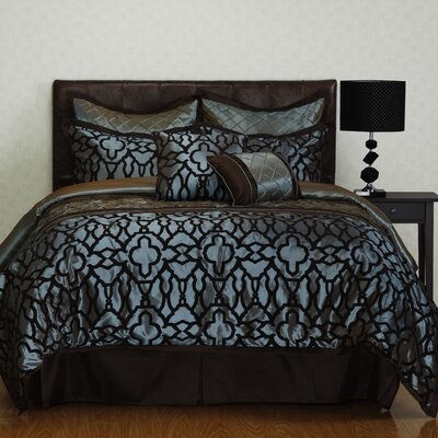 Jordan 8 Piece Comforter Set Size: California King