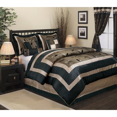 Pastora 7 Piece Comforter Set Size: California King