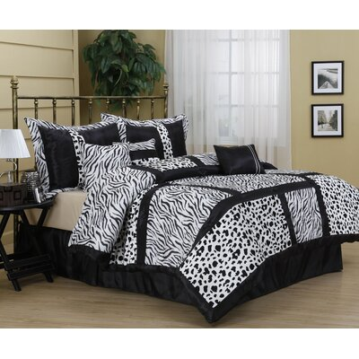 Amazon 7 Piece Comforter Set Size: King
