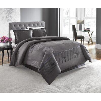 Huntley 4 Piece Comforter Set Size: California King