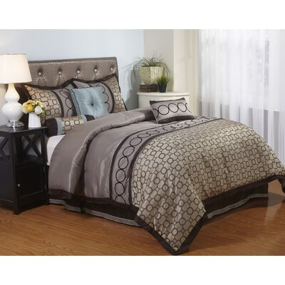 Linx 7 Piece Comforter Set Size: Full