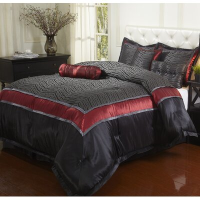 Nairobi 7 Piece Comforter Set Size: California King