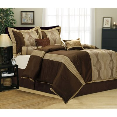 Kath 7 Piece Comforter Set Size: Full
