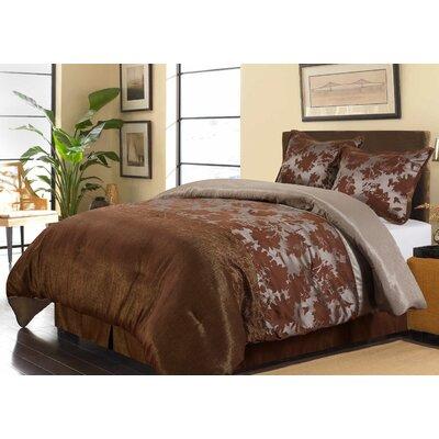 Evan 4 Piece Comforter Set Size: King