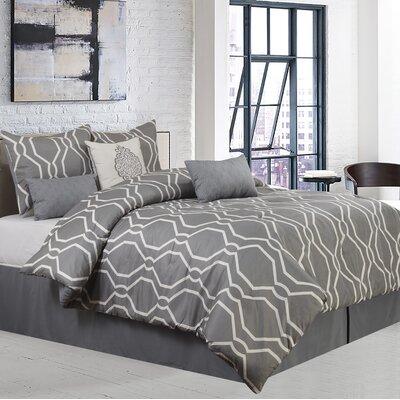 Dacian 7 Piece Comforter Set Size: King