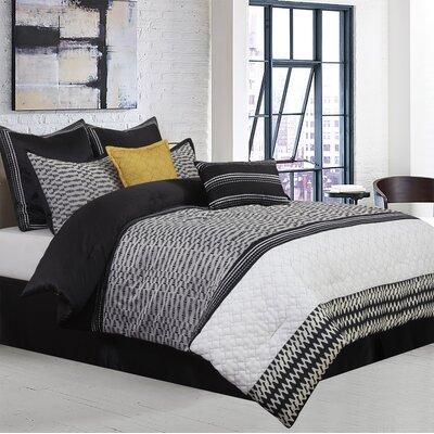 Gigi 8 Piece Comforter Set Size: California King