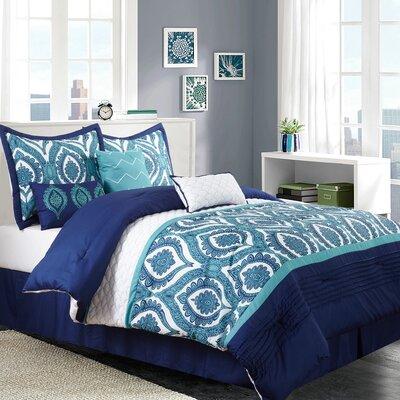 Odessa 7 Piece Comforter Set Size: California King