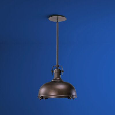 Vida 1-Light Bowl Pendant Finish: Oiled Bronze