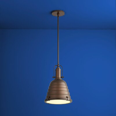 Sigma 1-Light Mini Pendant Finish: Oiled Bronze