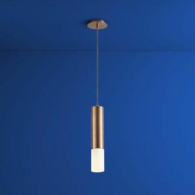 Opus 1-Light Mini Pendant Finish: Satin Copper