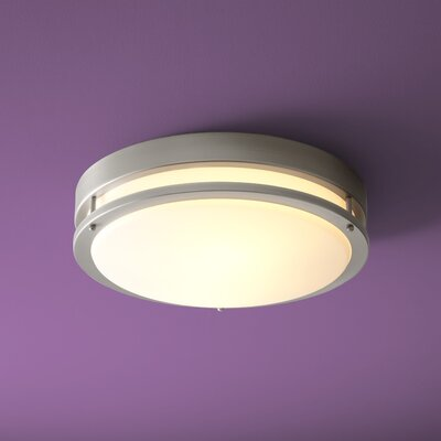 Oracle 1-Light Flush Mount Size: 5.5 H x 18 W x 18 D