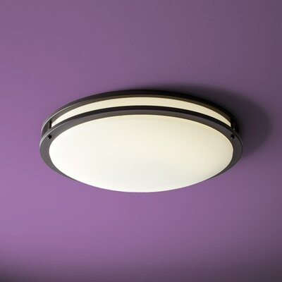 Oracle 2-Light Flush Mount Finish: Old World