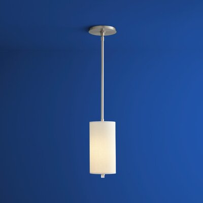 Echo 1-Light Mini Pendant Finish: Satin Nickel