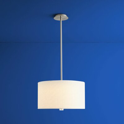 Echo 3-Lights Drum Pendant Size: 10.63 H x 18 W x 18 W