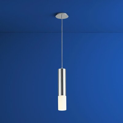 Opus 1-Light Mini Pendant Finish: Polished Chrome