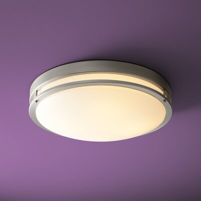 Oracle 1-Light Flush Mount Size: 6.25 H x 24 W x 24 D