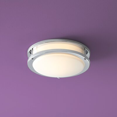 Oracle 1-Light Flush Mount Finish: Polished Chrome